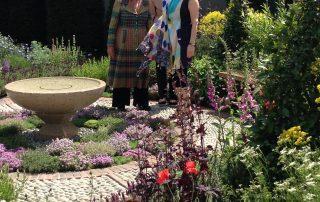 Maureen Lipman Jekka McVicar Chelsea Flower Show