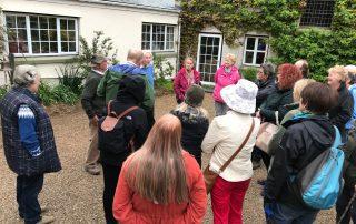 Group garden gardeners visit